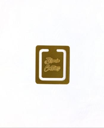 Zakładka do książki (złoto: próba 999)