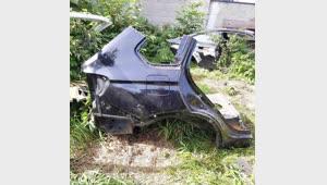 ĆWIARTKA PRAWA TYŁ BMW X5 F15 CARBON SCHWARZ 416X5