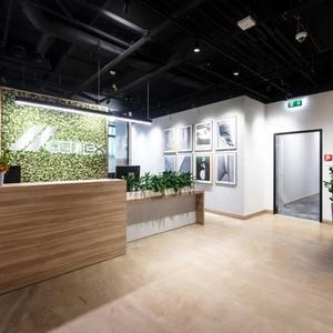 Siedziba firmy CEMEX i panele betonowe 3D